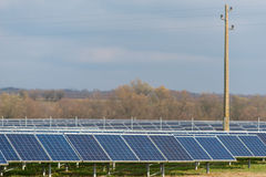 Solenergicollctors Arkivfoton