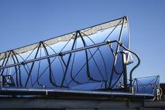 Solenergireflektor royaltyfri foto