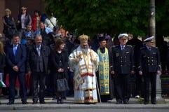 Solennej ceremonii oficjalni goście Varna Bułgaria Fotografia Stock
