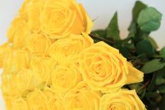 Solenny bukiet kwiaty dla pięknych dam, wiązka róże Fotografia Royalty Free