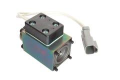 Solenoide para la válvula hidráulica Imagenes de archivo