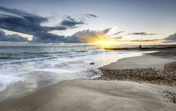 Solent Beach Stock Image