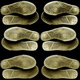 Soles. A lot of rubber soles Royalty Free Stock Images