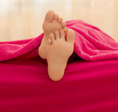 Soles of the feet Royalty Free Stock Image