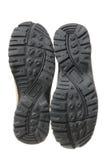 Soles of Men's Shoes Stock Photo