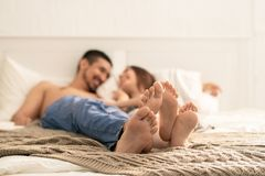 Soles Of Amorous Dates Stock Photography