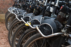 Solex for hire Stock Photography