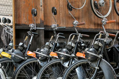 Solex mopeds Royalty Free Stock Photos