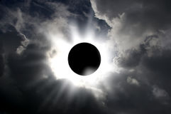 Solförmörkelse Royaltyfri Foto