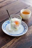 Solf boiled egg Stock Images