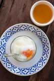 Solf boiled egg Stock Photos