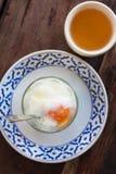 Solf boiled egg Stock Photos