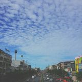 solf cloud in bangkok Stock Photography