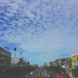 solf Wolke in Bangkok Stockfotografie