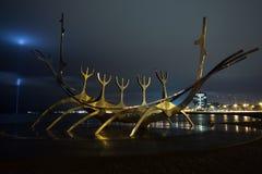 Solfar Scultpure e monumento da paz da imagem Foto de Stock Royalty Free