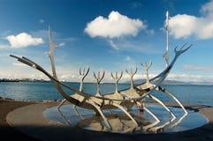 Solfar (Sun Voyager) in Reykjavik, Iceland Stock Images