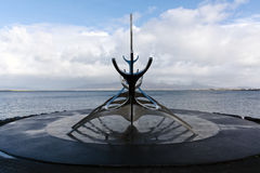Solfar, The Sun Voyager In Reykjavik Iceland Stock Photo