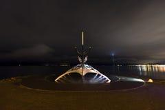 Solfar, The Sun Voyager In Reykjavik Iceland Stock Images