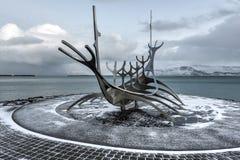 Solfar (Sun Voyager), Reykjavik Royalty Free Stock Photo