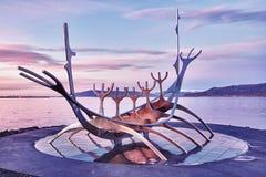 Solfar Suncraft - Reykjavik - Исландия Стоковая Фотография