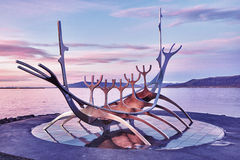 Solfar Suncraft - Reykjavik - Islândia Fotografia de Stock