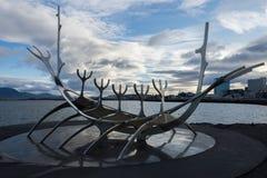Solfarid - słońca Voyager w Reykjavik Obraz Royalty Free