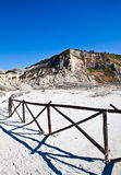 Solfatara - volcanic crater Stock Photography