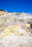 Solfatara - volcanic crater Royalty Free Stock Photo
