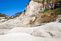 Solfatara - volcanic crater Royalty Free Stock Photography