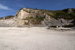 Solfatara volcanic crater Royalty Free Stock Image