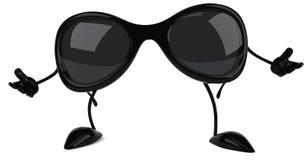 solglasögon stock illustrationer