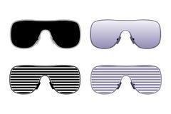 solglasögon royaltyfri illustrationer