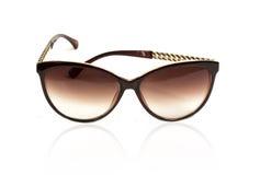 Solglasögon för kvinna` s royaltyfri foto