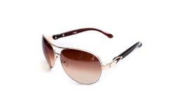 Solglasögon isolerad vit bakgrund Royaltyfri Fotografi