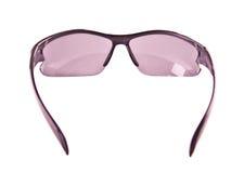 Solglasögon som isoleras på en white Arkivfoto