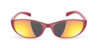 Solglasögon som isoleras på viten Royaltyfria Foton