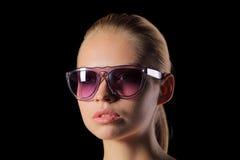 solglasögonkvinna Royaltyfria Bilder