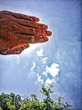 Solhälsning! Fotografering för Bildbyråer