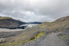 Solheimajokull Fotografering för Bildbyråer