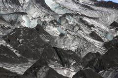 Solheimajokull Glacier Royalty Free Stock Image