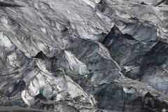 Solheimajokull Glacier Stock Image