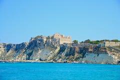 Soli Di San Nicola wyspa Obrazy Royalty Free