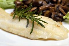 Soli pesci cotti Fotografia Stock Libera da Diritti