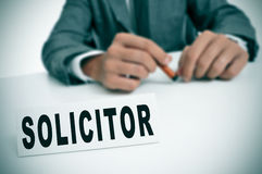 Solicitor Royalty Free Stock Photography
