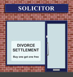 Solicitor divorce settlement offer Royalty Free Stock Image