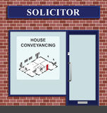 Solicitor House Conveyancing Stock Photo