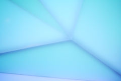 Solid acrylic surface with Led lighting Stock Image