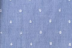 6fb355b15703b Solid background of blue fabric with a texture pattern. Close-up. royalty  free