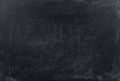 Solid blackboard background. Royalty Free Stock Photography