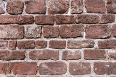 Solid brick wall textures. Photographed and framed wall Stock Photos